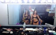 Models getting ready