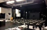 Studio room night before the seminar