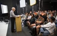 Gary Cole opens the seminar
