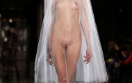 Nude fashion shows runway successfully