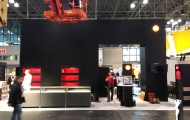 Leica booth before show opening