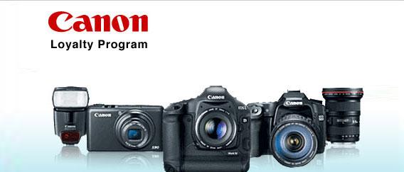 Canon Loyalty Program « Shoot The Centerfold®