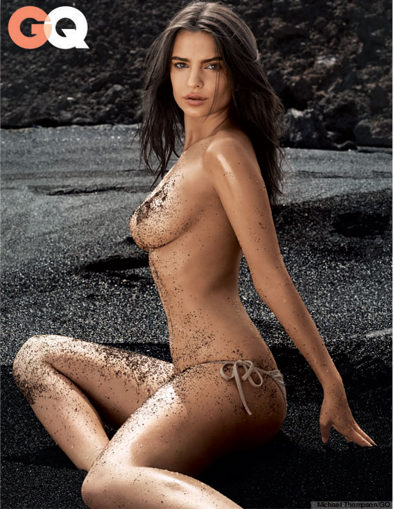 Emily Ratajkowski: This summer's Bombshell Gets Down ...