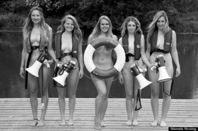 Show Your Support: Womens Rowing Teams Naked Calendar
